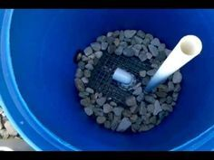 DIY BEST DESIGN FOR A KOI POND FILTER PART 1 - YouTube