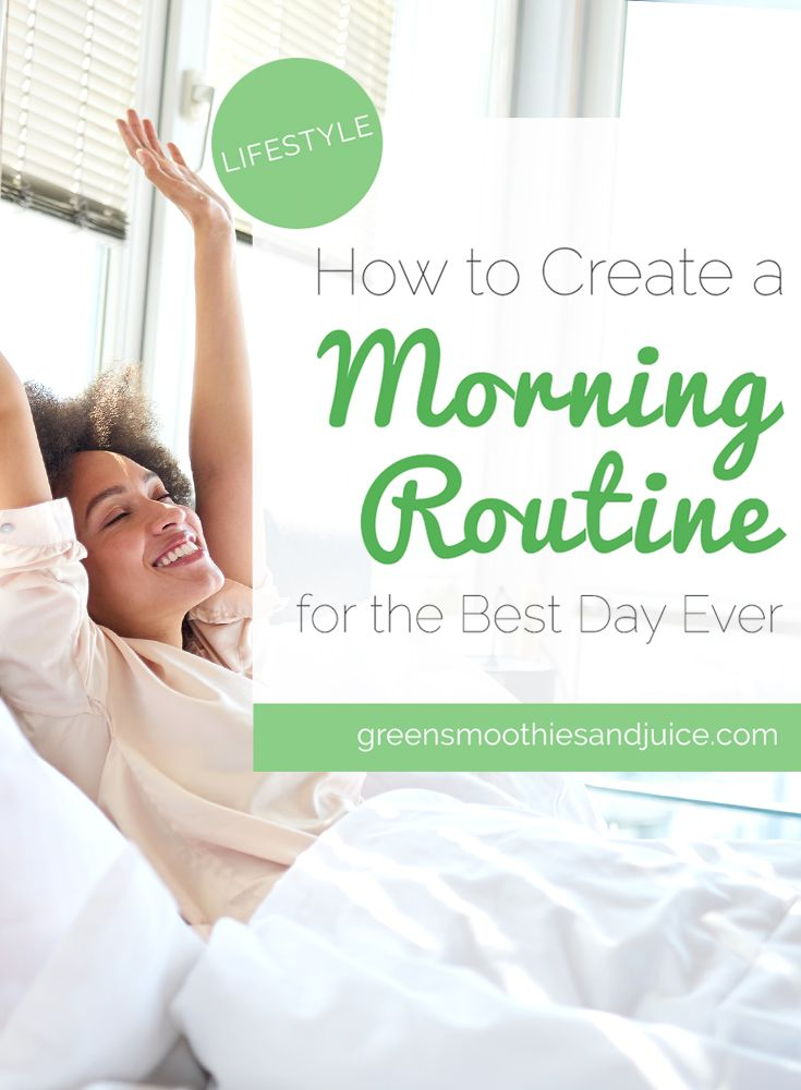 If you want to set yourself up for a a great day, you need a great morning routine. The best way to create a successful morning routine...  #healthtips