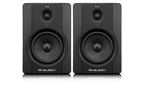 M-Audio BX5 D2 (1 Paar) | Aktiv Studio Monitor Lautsprecher M-Audio http://www.amazon.de/dp/B005F3H6Q8/ref=cm_sw_r_pi_dp_5DfZwb12K4CWQ