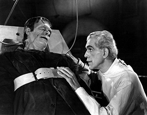 11 x 14 Old Tin Metal Sign Karloff Boris In House Of Frankenstein -- Read more  at the image link.
