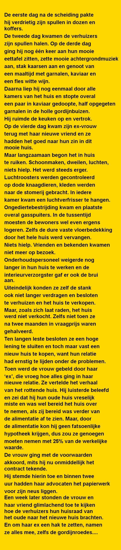De eerste dag na de scheiding - Zieer.nl