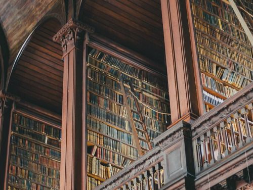 Trinity College Library, Dublin, Ireland by Beth Kirby