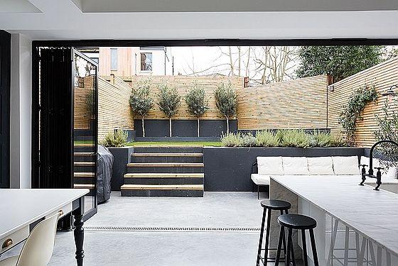 Les 500 meilleures images propos de fa ades maisons sur for Cafe jardin newport beach