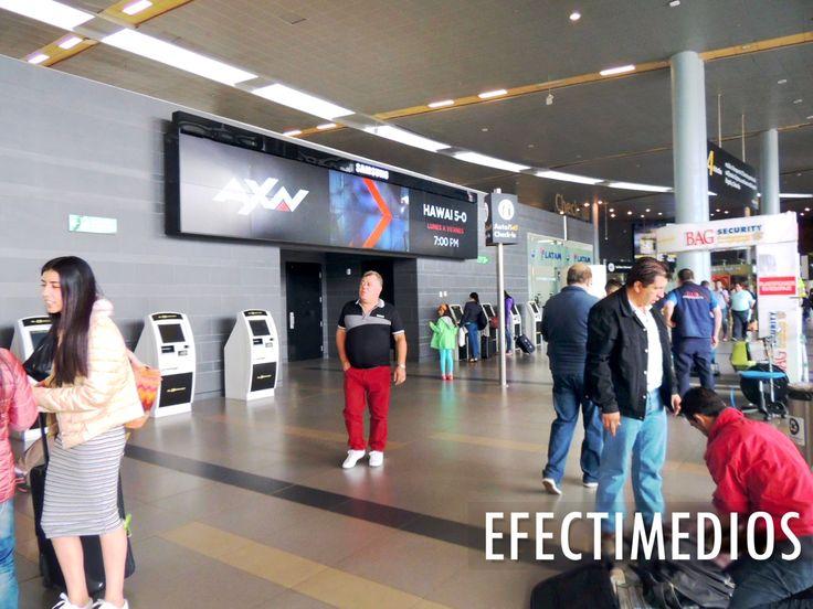 Con el fin de promocionar el lanzamiento de diferentes series y películas, nuestro cliente AXN nos ha confiado sus campañas en circuitos digitales de publicidad en Aeropuertos y Centros Comerciales de las principales ciudades.