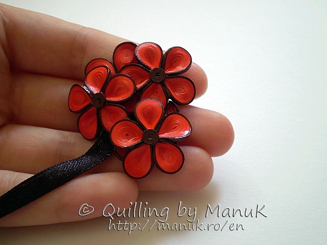 corner_bookmark_flowers_detail - Quilling by Manuk