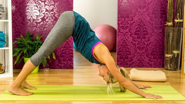 Zum Runterkommen: Anti-Stress-Yoga für den Alltag - gofeminin
