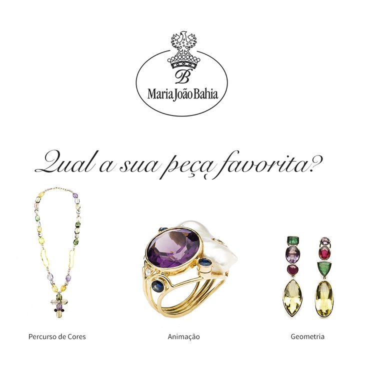 Queremos saber a sua opinião.   #mariajoaobahia #january #janeiro #jewellery #signedjewellery #avenidadaliberdade #fav #favourite #favorita #joiasdeautor #joias #ring #anel #pérola #pearl #ouro #gold #diamantes #diamonds #colar #necklace #cross #cruz #preciousstones #pedraspreciosas #earrings #brincos #ametist #ametista