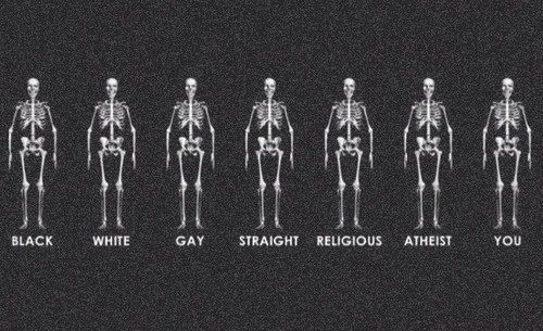 stop hating, everyone's the same.