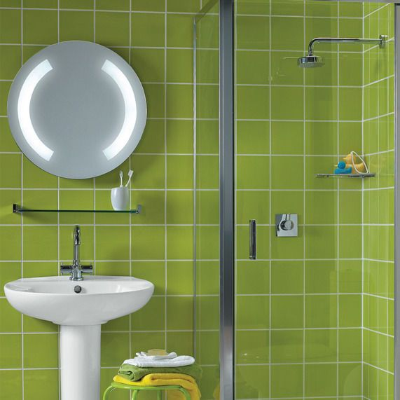 Duo LED Illuminated Mirror With Demister And Motion Sensor
