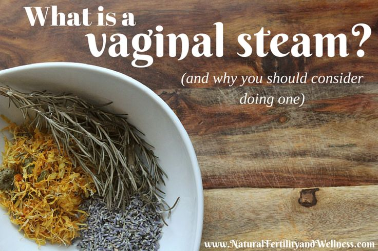 What is a vaginal steam? It's the use of herbs that may help increase circulation to the uterus or to aid in cleansing applied through the process of steam.