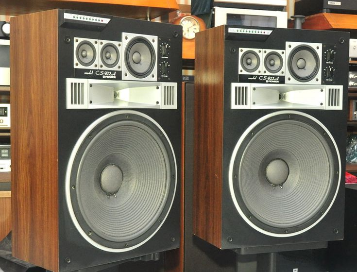 Pioneer Cs 992 Vintage Speakers Pinterest