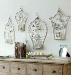 17 mejores ideas sobre jaulas decorativas en pinterest - Ideas decorativas navidenas ...