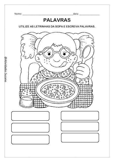 Alfabetização: Para casa - Atividades Adriana