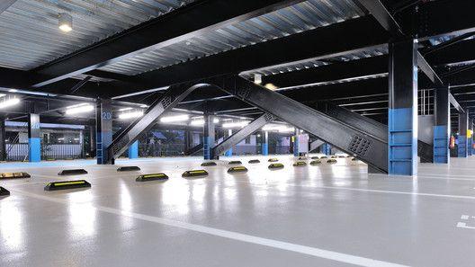 Estructura de Estacionamientos Wulai,Cortesía de QLAB