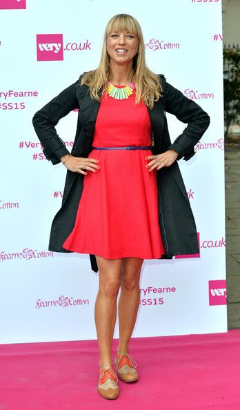 Sara Cox Photos - Sara Cox attends the Fearne Cotton for Very.co.uk Fashion show at One Marylebone on September 11, 2014 in London, England. - Fearne Cotton for Very.co.uk Photocall And Fashion Show