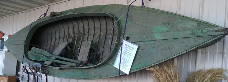 Antique Duck Boat built in 1877-1887 by Christopher Columbus Smith  - the founder of Chris-Craft Boat Company