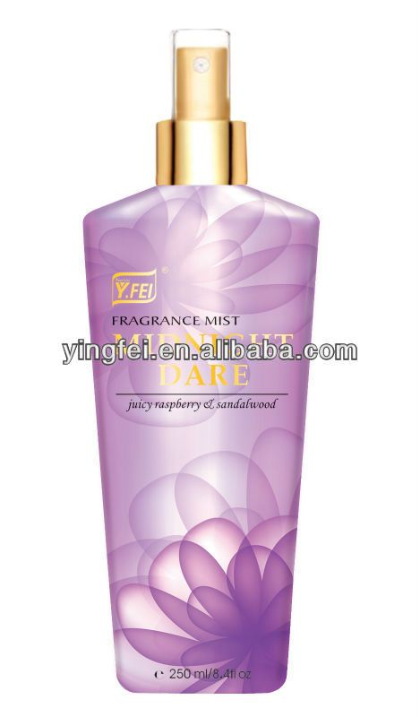 Midnight Dare fragrance mist  High quality with reasonable price   Nice packing with fashion design  OEM service is available