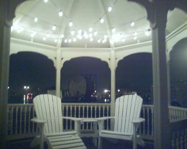 1000 Images About Gazebo Lighting Ideas On Pinterest