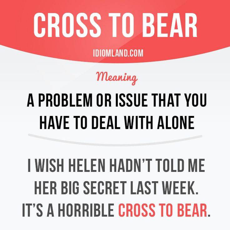 Cross to bear -         Repinned by Chesapeake College Adult Ed. We offer free…