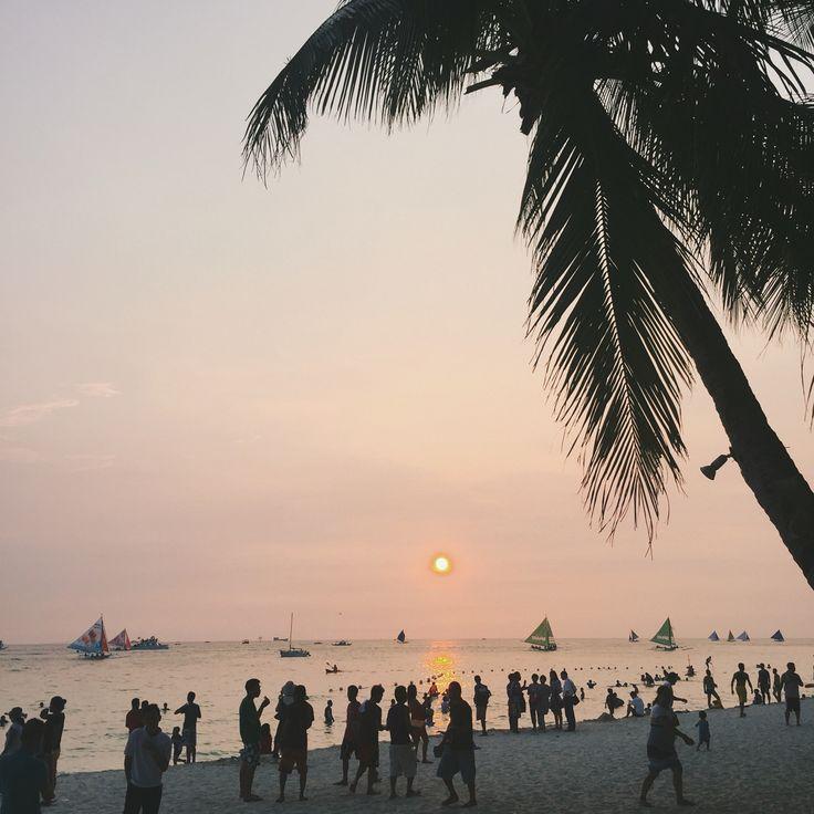 Boracay Sunset 2016. Taken via iPhone6.