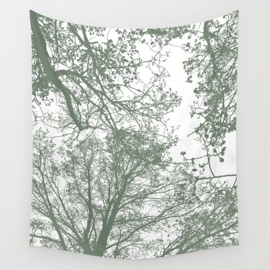 15% Off + Free Shipping on Tapestries! Abstract Trees by ARTbyJWP from Society6 #walltapestry #tapestry #walldeco #artprints #trees --  Available in three distinct sizes, our Wall Tapestries are made of 100% lightweight polyester with hand-sewn finished edges. Featuring vivid colors and crisp lines, these highly unique and versatile tapestries are durable enough for both indoor and outdoor use. Machine washable for outdoor enthusiasts, with cold water on gentle cycle using mild detergent…