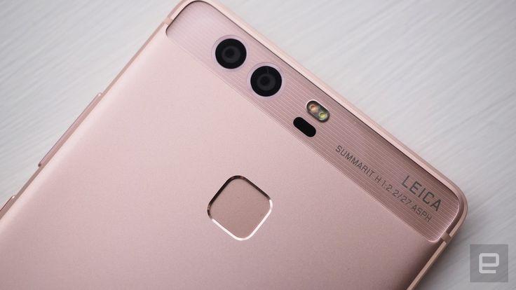 Huawei's P9 flagship phone has a Leica-endorsed dual camera