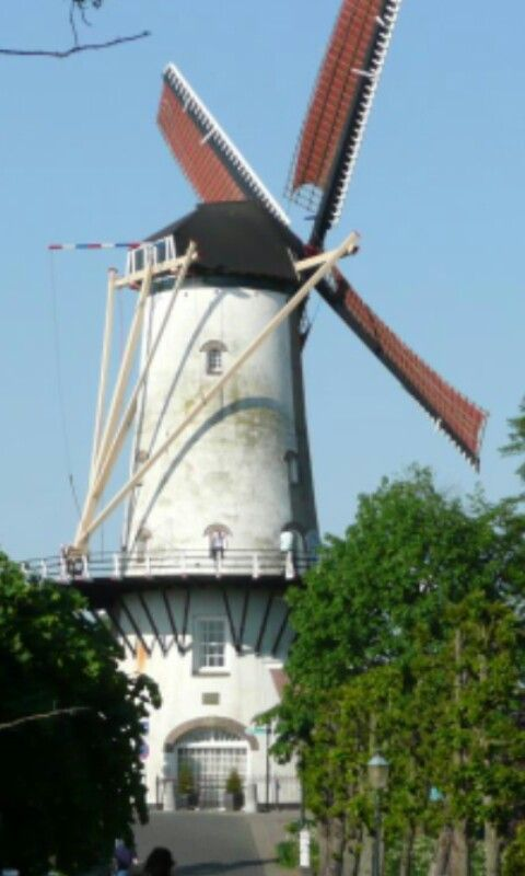 d'Orange molen, Willemstad.
