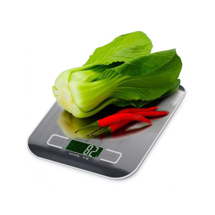 Digital Kitchen Super Slim Stainless Scale- Ounces, Grams, Pounds