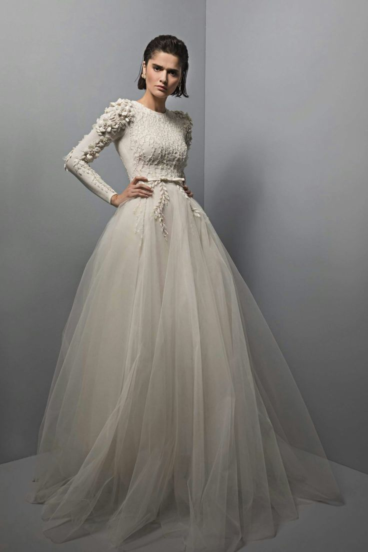 17 best images about longsleeve highneck gowns on for High couture