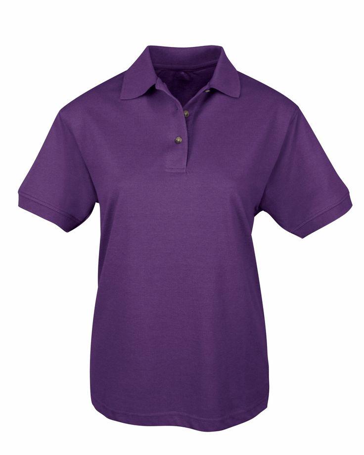 Women Easy Care Pique Golf Shirt (60% Cotton/40% Polyester). Tri mountain 092