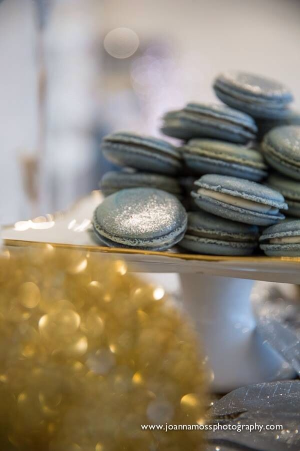 Cookies by Sugar Patissarie. Photo by Joanna Moss Photography.
