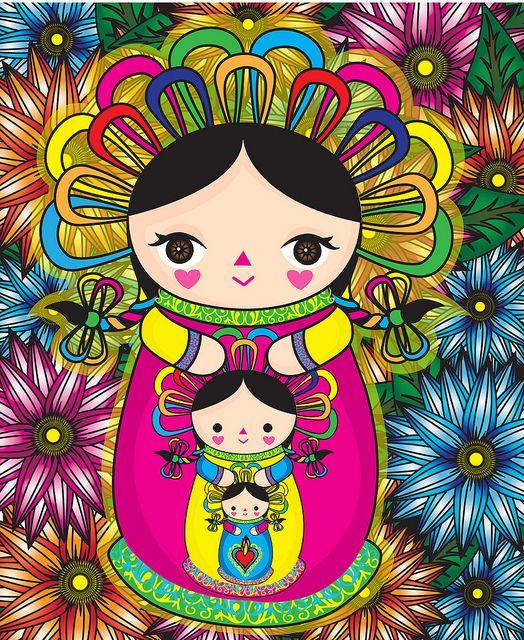 Muñeca de trapo, Michellet Muñoz Mayorga