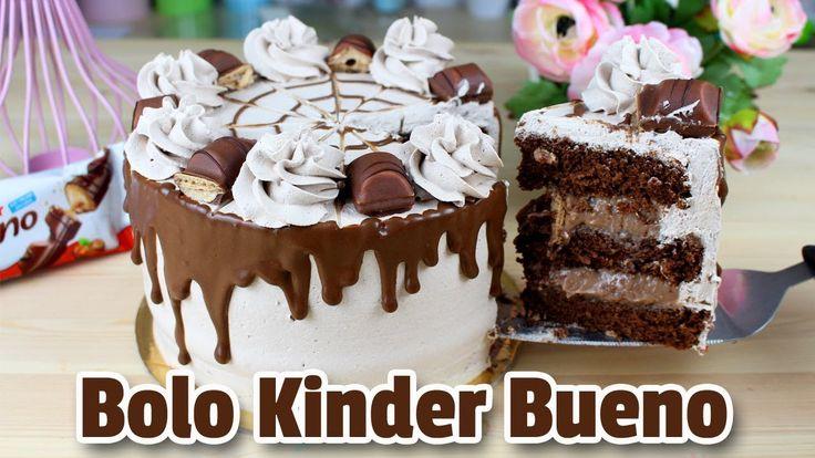 Bolo Kinder Bueno ! Como Fazer Bolo Kinder Bueno  | Cakepedia