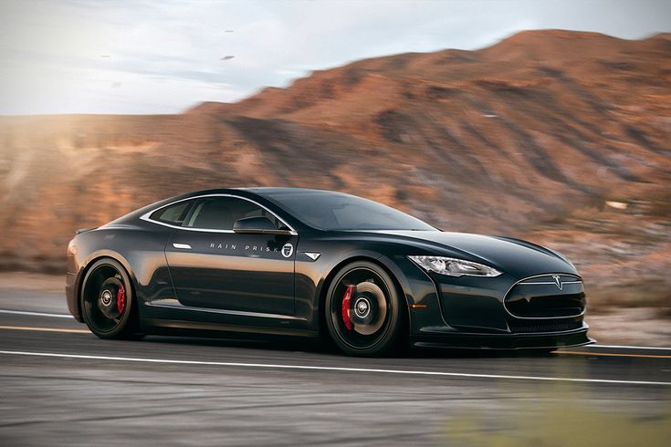 Tesla Model S Coupe Concept | HiConsumption