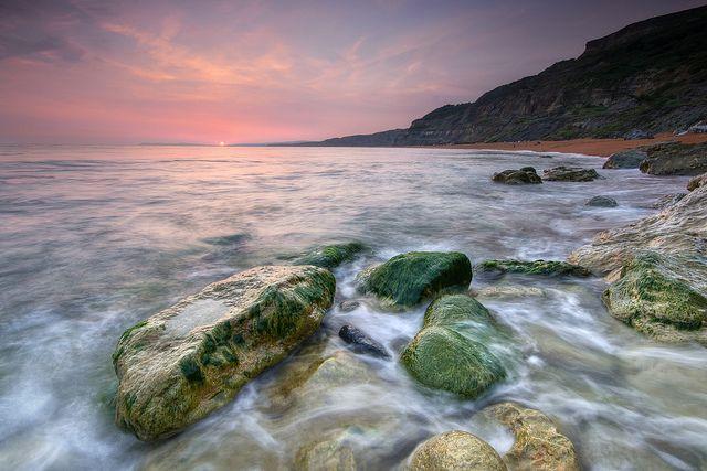 Blackgang beach at Sunset | Flickr - Photo Sharing!