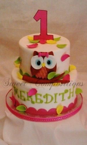 17 best Owl cake images on Pinterest Owls Birthdays and Fondant cakes