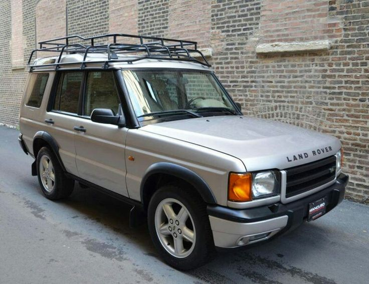 2000 Land Rover Discovery Series II SE