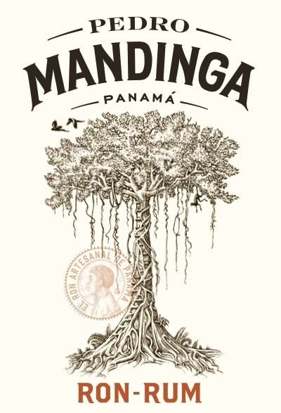 Pedro Mandinga Rum symbolizes all that is best about the diverse heritage and camaraderie of the modern-day Panamanian. The logo is the great ceiba tree that Pedro would climb to see both the Pacific and the Caribbean Ocean – a bridge between two worlds, like the isthmus itself.