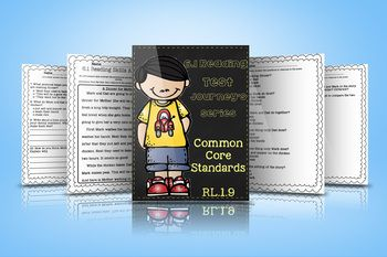 Reading Skills Assessment for Journey's Series Unit 6.1 RL.1.9