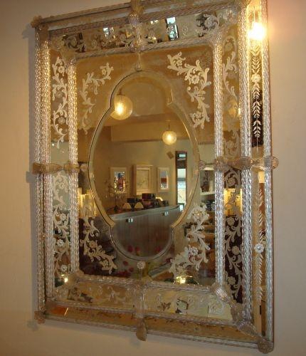 Amazing Antique Venetian Mirror Elegant - New venetian glass mirror Top Design