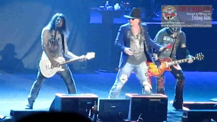 Guns N' Roses GNR - Indonesia Raya / Don't Cry (Ron 'Bumblefoot' Thal in...