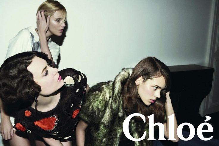 Chloe - Freja Beha Erichsen,Shalom Harlow,Anja Rubik - 2007FW - ad campaign
