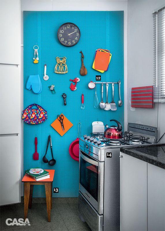 17 ideias de decoração no apartamento alugado - Casa: