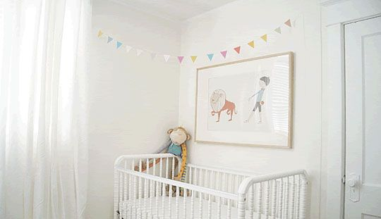 Bunting: Diy Ideas, Little House, Diy Nurseries, Baby Buntings, Minis, Future Baby, Buntings Flags, Diy Projects, Baby Cribs