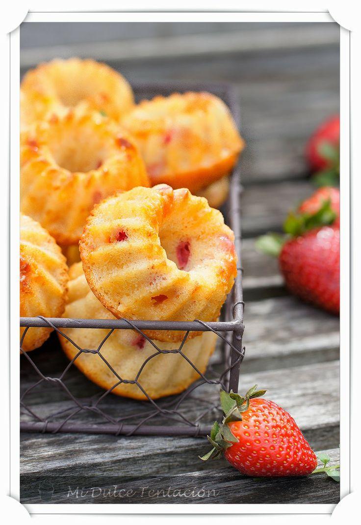 Mi dulce tentación: Mini Bundt Cakes de Queso, Chocolate Blanco y Fresas - Productos de Repostería Belbake Lidl