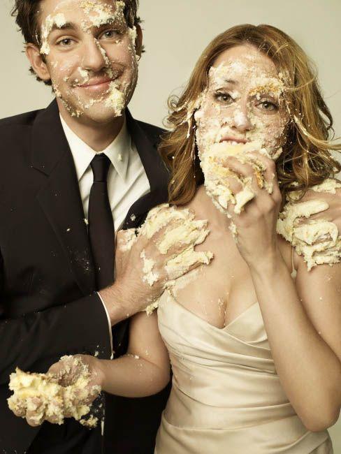 Jenna Fischer and John Krasinski