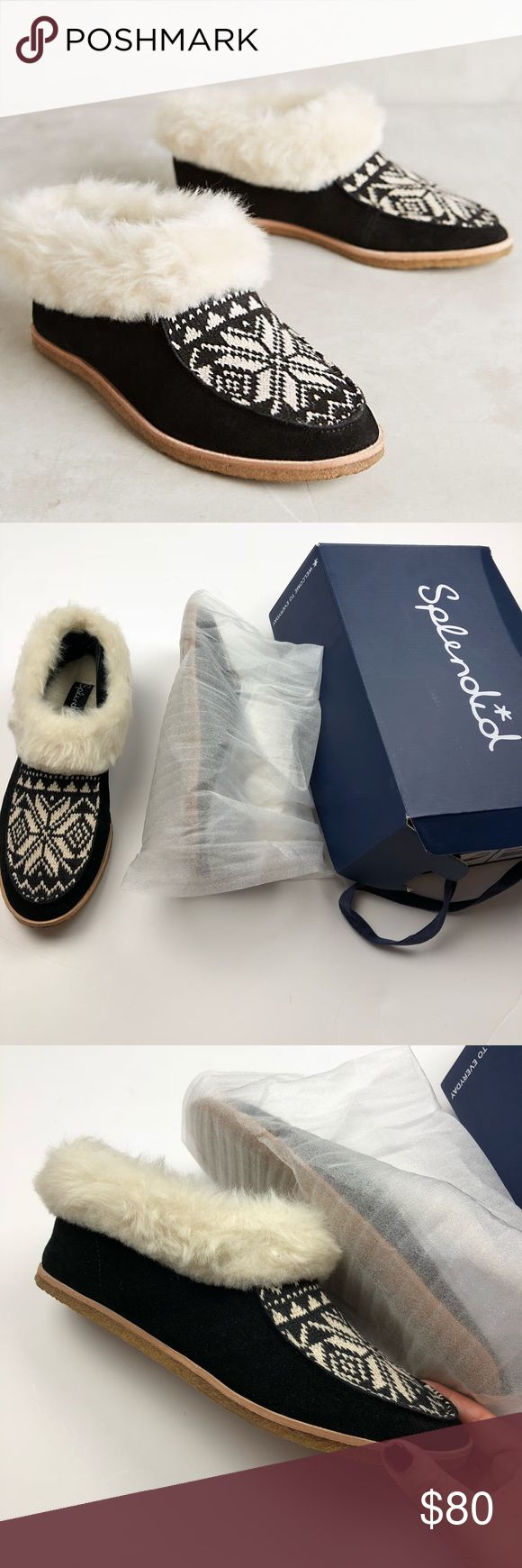 NIB Splendid Faux Fur Booties So cute and perfect for winter! Brand new in box. Size 9. Black suede with faux fur lining. No trades!! 010201790def Splendid Shoes Ankle Boots & Booties