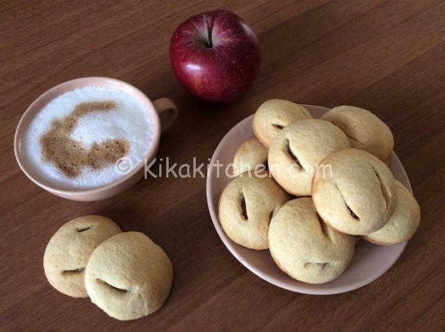 Biscotti cuor di mela | Kikakitchen