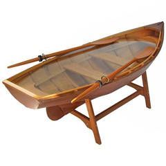 row boat dining table - Google Search