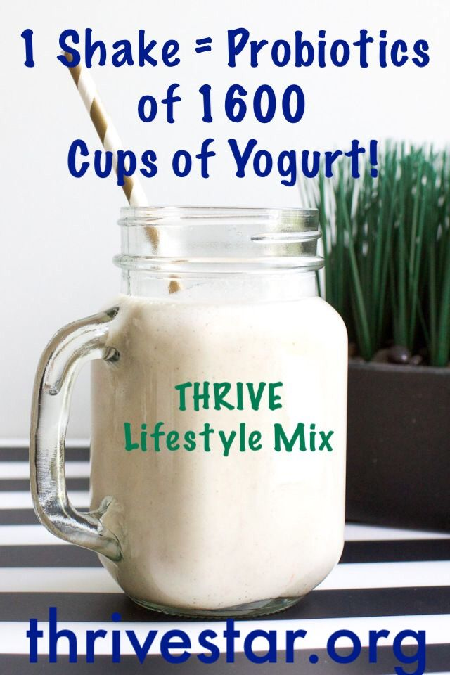 Give your immune System a boost with Thrive Premium Lifestyle Shake mix by Le-vel!
